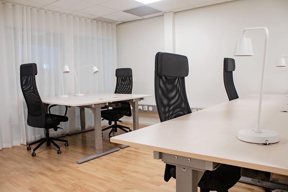 Flexibla kontorsplatser hos City Office kontorshotell i Stockholm