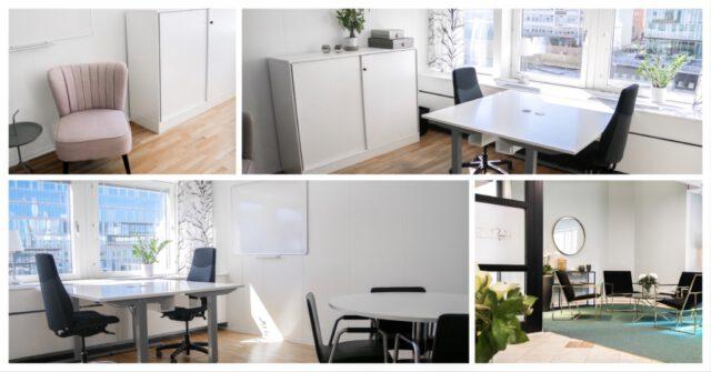 Ledigt kontor för 2-4 personer i WTC mitt i Stockholm city