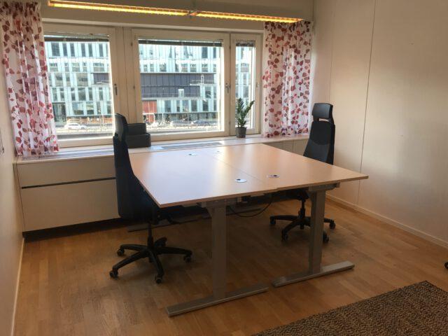 Ledigt kontor på #stockholmsbästaadress för 2-3 personer