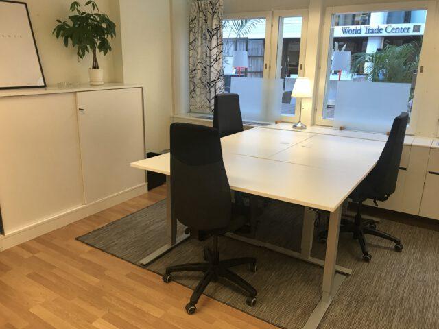 Ledigt kontor på #stockholmsbästaadress för 3-4 personer, centralt Stockholm city